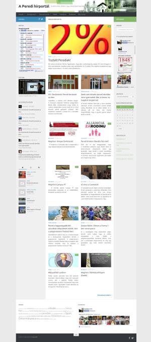 Az új honlap